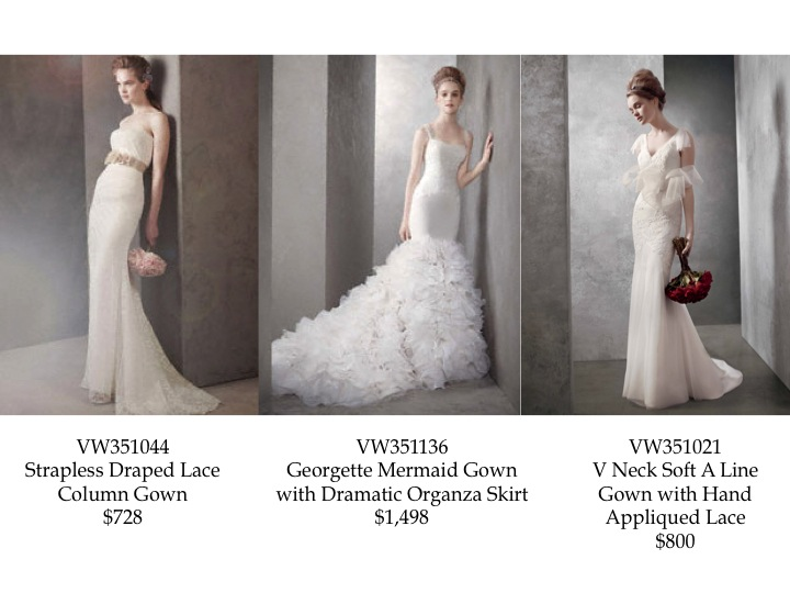 Vera Wang White Great Gatsby Inspired Wedding Dress