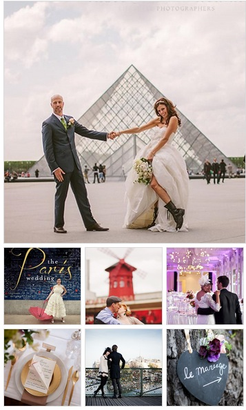 getting married in paris inspiration