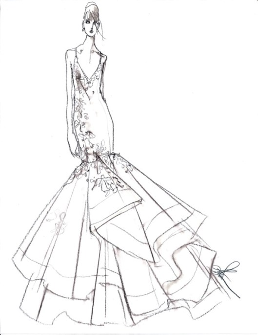 RIVINI BY RITA VINIERIS SS 2014 sketch