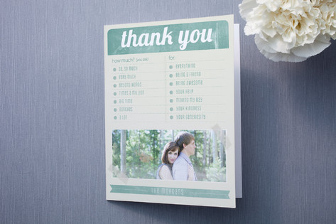 Sweet Thank You Card Ideas