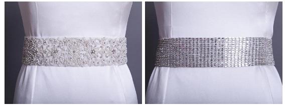 Rania Hatoum Wedding Dress sash
