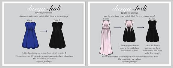 Reversible Bridesmaid Dress