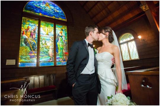 jekyll island faith chapel wedding ceremony