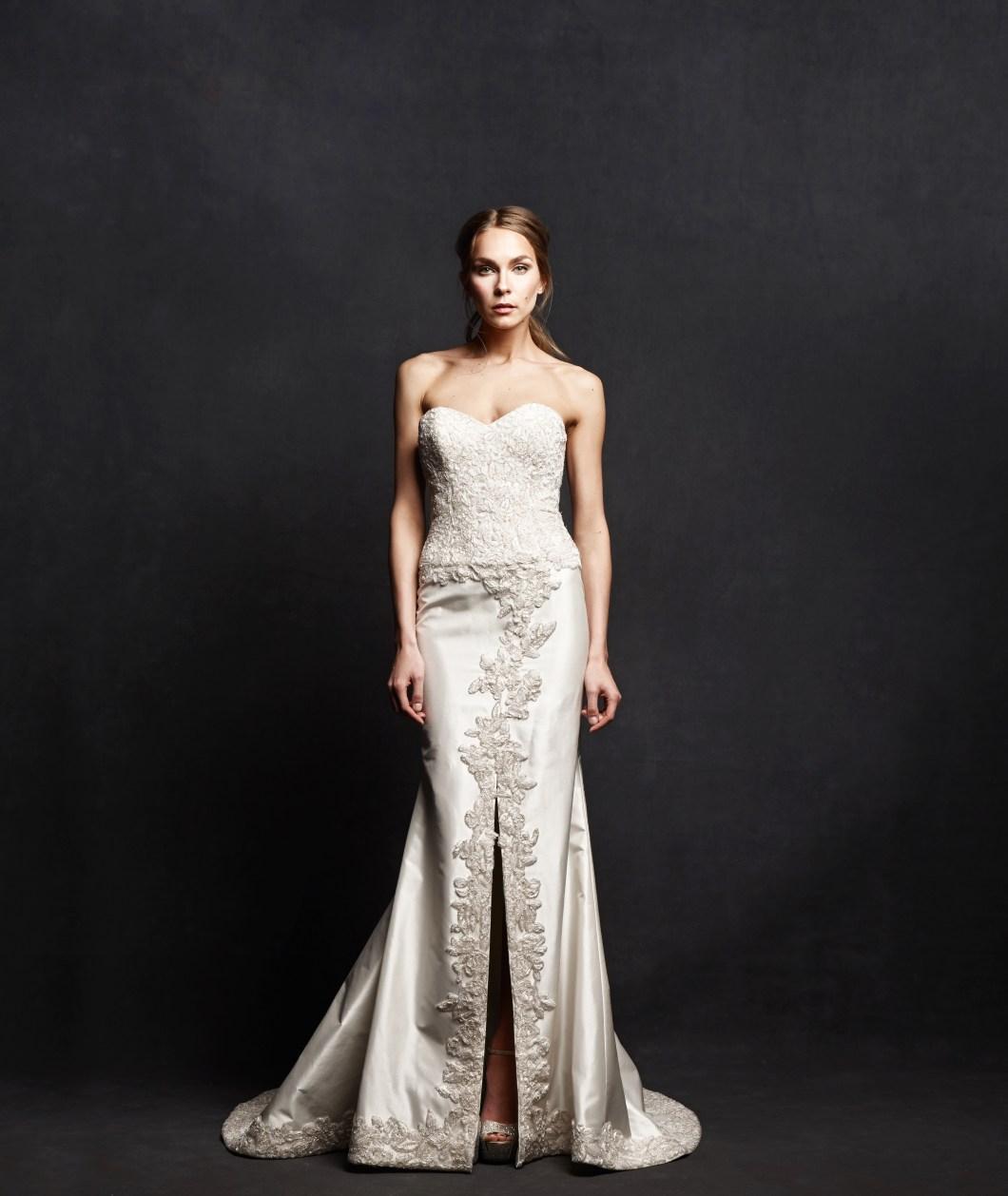 luxury wedding dress elegant isabelle armstrong