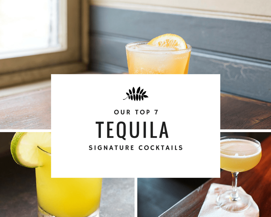 tequila cocktail signature drink recipes