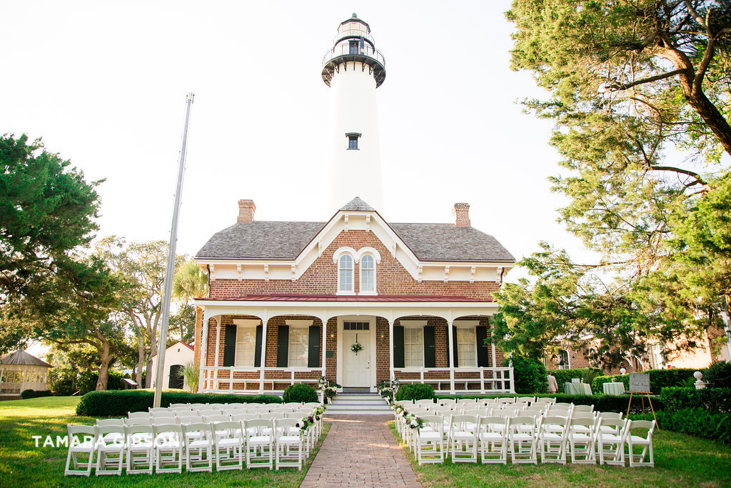 saint simons lighthouse wedding planner