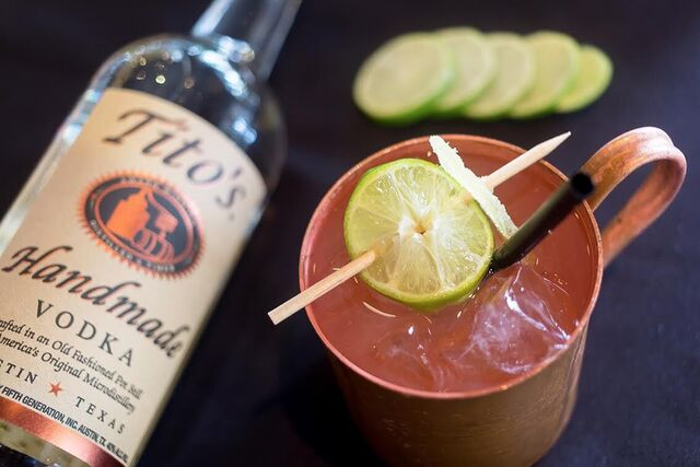 Spanish Mule Moscow Mule signature drink ideas