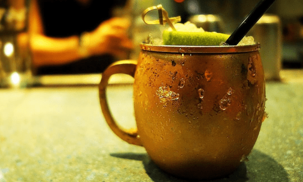 Rhubarb Mule Moscow Mule Signature Drink Ideas