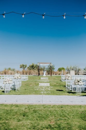 outdoor wedding ceremony at The Westin Jekyll Island
