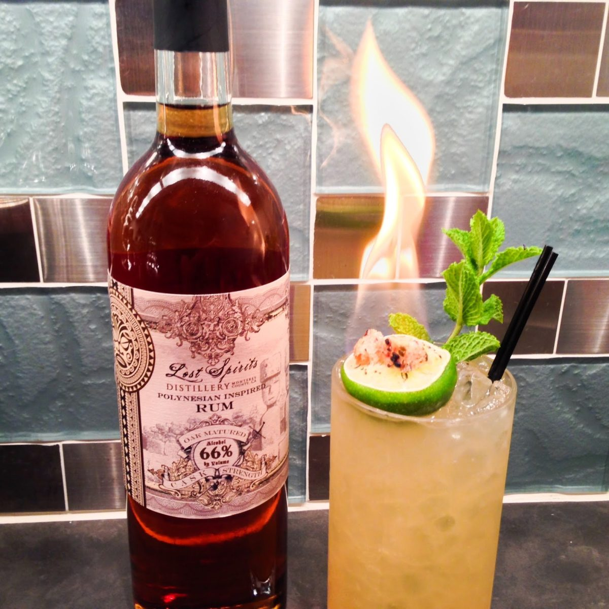 Lost Spirits Distillery's new Polynesian Inspired Rum, and a Polynesian Paralysis variation