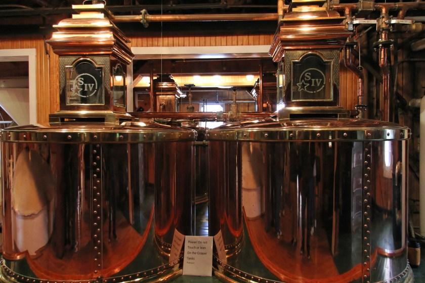 Spirit safes and collection tanks, Maker's Mark