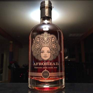 Checking out Afrohead's Seven Year Rum