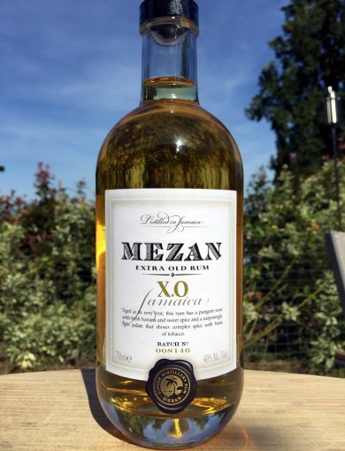 Checking out Mezan Jamaican XO Rum