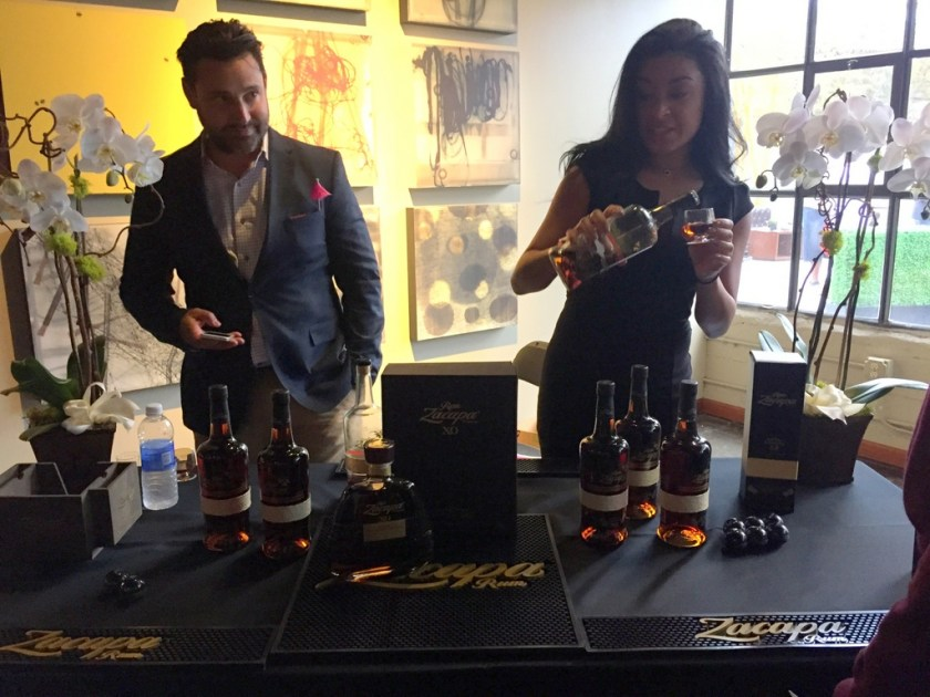 Ron Zacapa booth at California Rum Fest 2015