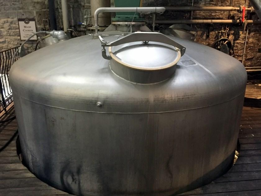 Woodford Reserve mash cooker