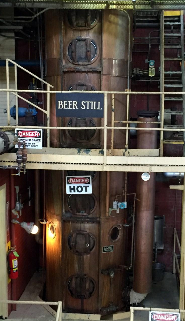 Four Roses distillery still