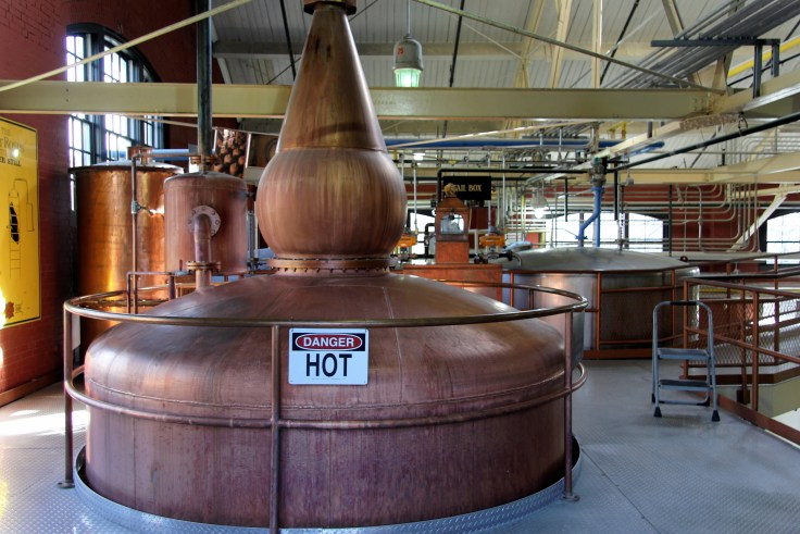 Four Roses distillery doubler