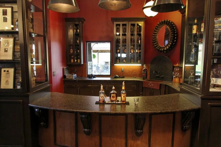 Four Roses distillery tasting room