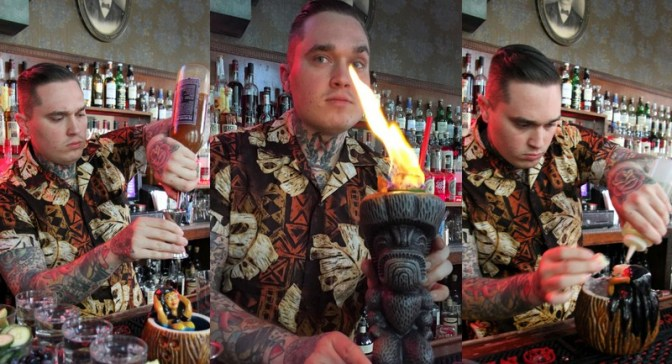 At the Bar with Seattle's Tiki Warrior Justin Wojslaw