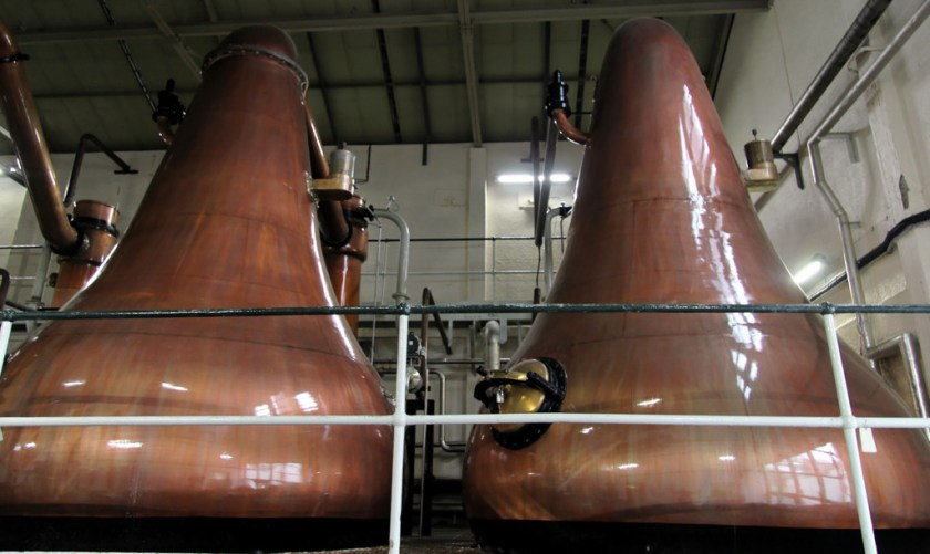 Pot still at Lagavulin