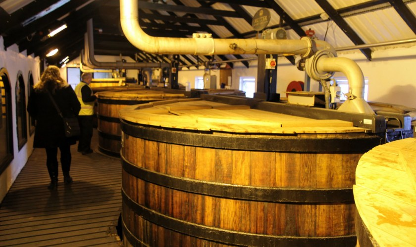Washback at Bowmore