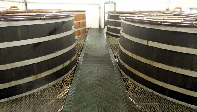 Washbacks at Bruichladdich