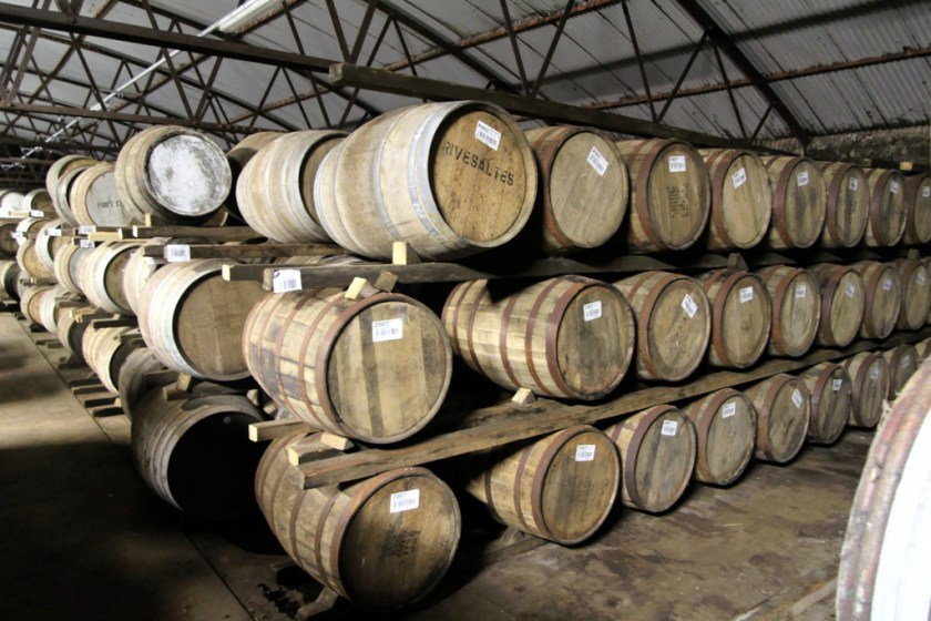 Dunnage warehouse at Bruichladdich