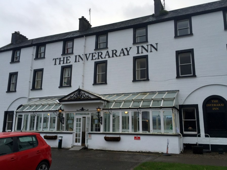 Lunch stop at the Inverary Inn