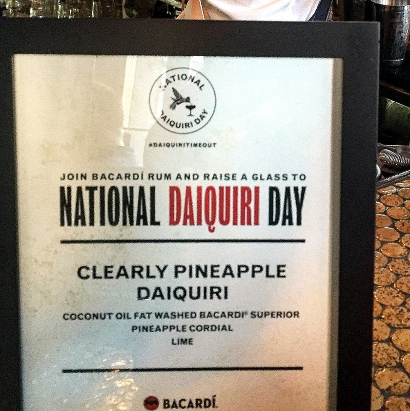 Bacardi National Daiquiri Day Bar Crawl 2016 -Shannon Stiggins at Kingfish