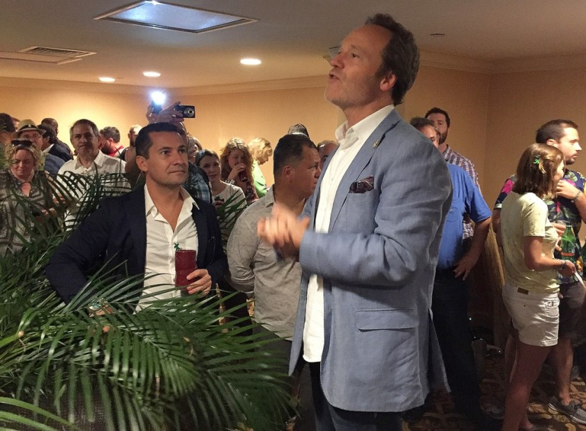 Alexandre Gabriel at Plantation OFTD launch at Tales of the Cocktail 2016.