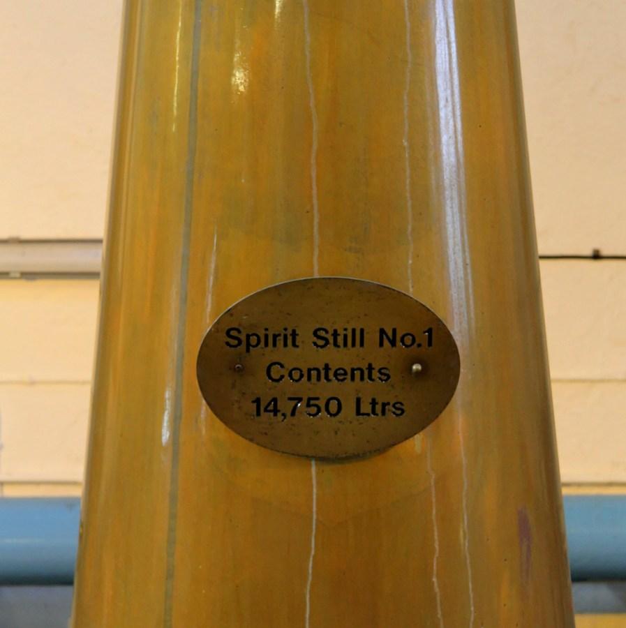 Pot still, Bowmore distillery