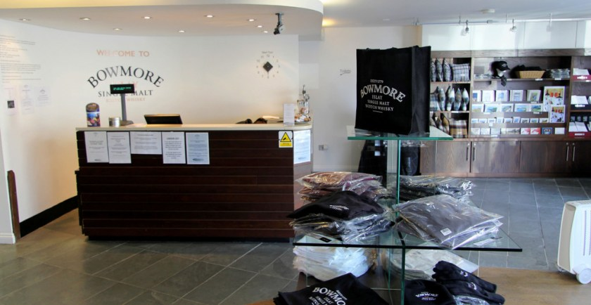 Visitor's center, Bowmore distillery