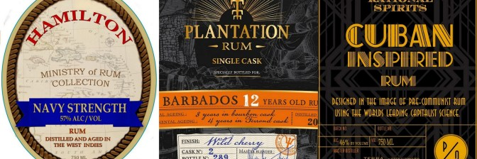 Stalking the TTB:  Upcoming U.S. rum releases from Plantation, Hamilton, Samaroli, El Dorado, Rational Spirits and more!  May and June 2016