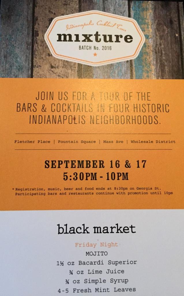 Mixture 2016 at Black Market, Indianapolis