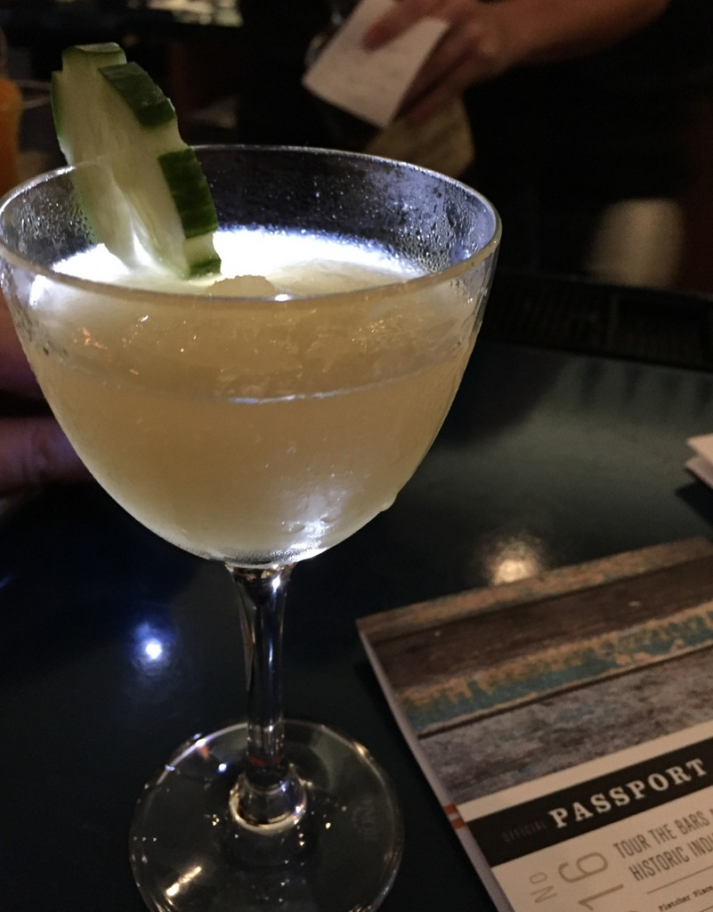 Gimlet at Spoke & Steele, Indianapolis