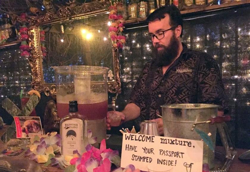 Chris Coy at Black Market, Indianapolis
