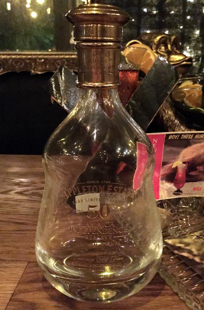 Appleton 50 year bottle