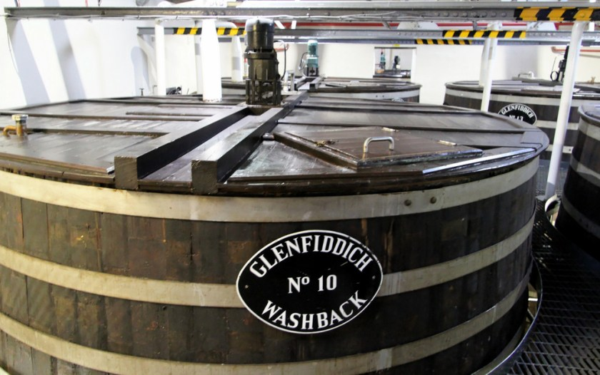 Wash tun, Glenfiddich Distillery