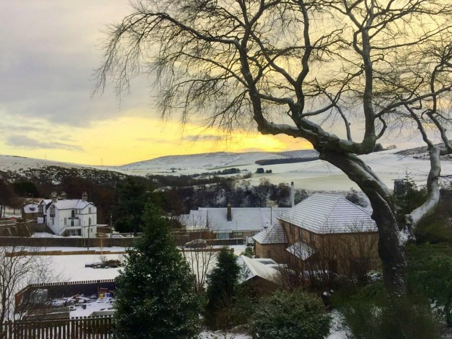 Speyside morning ,as seen from the Highland Spirit B&B.