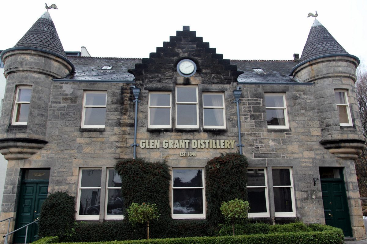 Touring Speyside's Glen Grant Scotch Whisky Distillery
