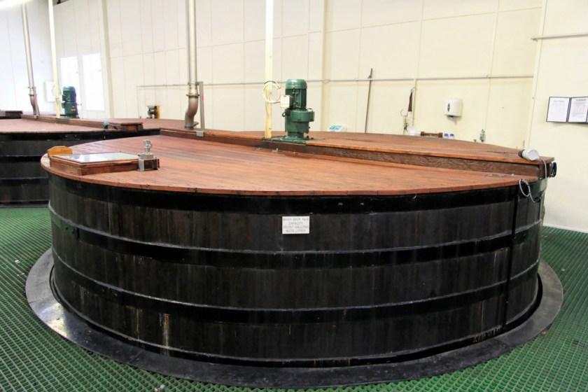 Washbacks, Glen Grant distillery