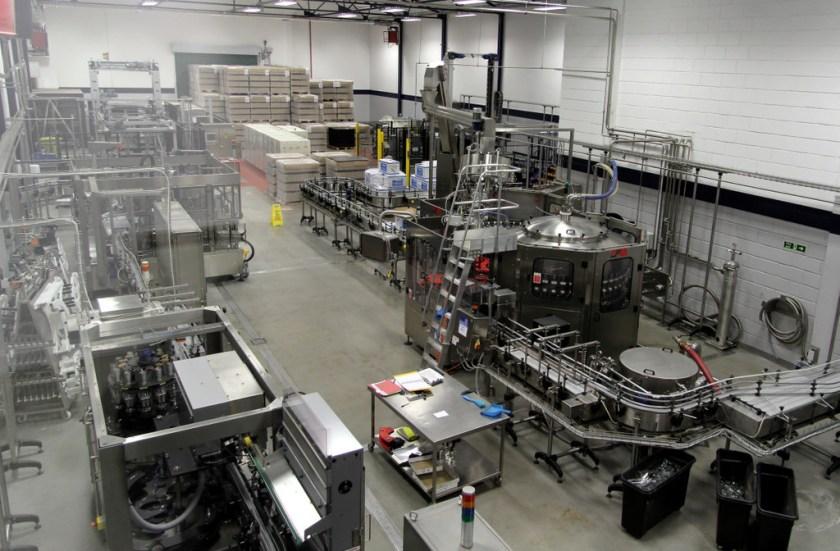 Bottling facility, Glen Grant distillery