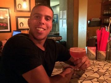Cameron George at Barrio with the Havana Hustle