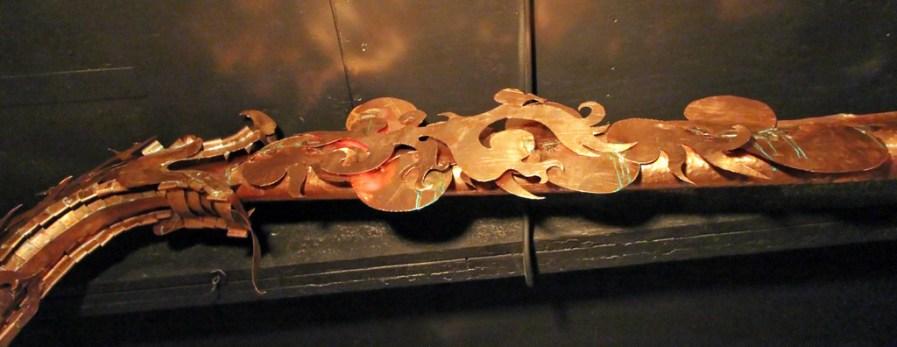 Lyne arm ornamentation, Lost Spirits Los Angeles Distillery
