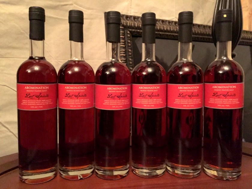Abomination (The Crying of the Puma) Lost Spirits Los Angeles Distillery