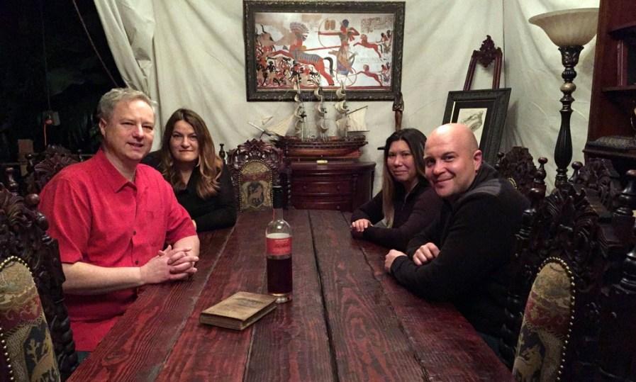 Cocktail Wonk, Mrs. Wonk, Joanne Haruta, Bryan Davis - Lost Spirits Los Angeles distillery.