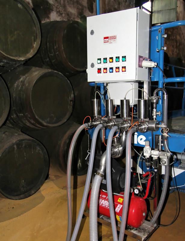 Pumps for running the scales, Lustau, Jerez de la Frontera