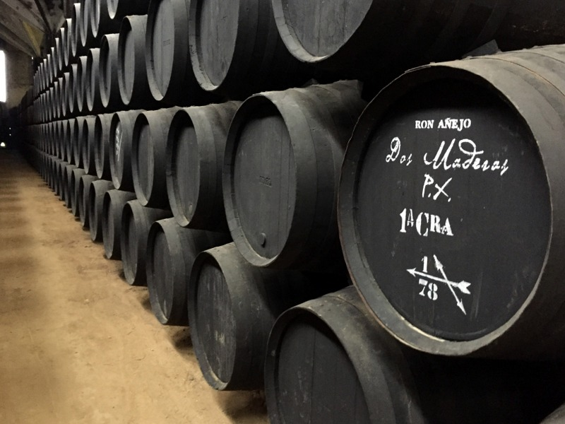 Dos Maderas casks, Williams & Humbert, Jerez de la Frontera