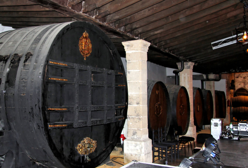 El Cristo and Apostoles casks. González Byass