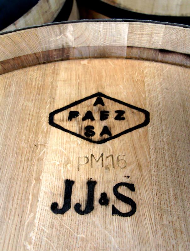 New cask, headed for John Jameson & Son, Antonio Páez Lobato cooperage